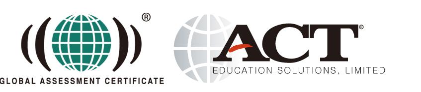 Global assessment certificate 로고